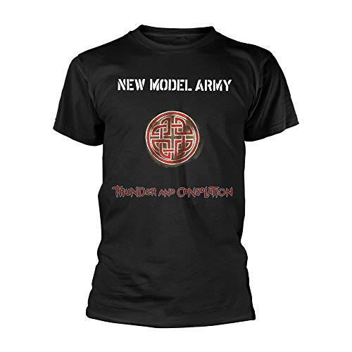 New Model Army (NMA) Thunder and Consolation Black T Shirt