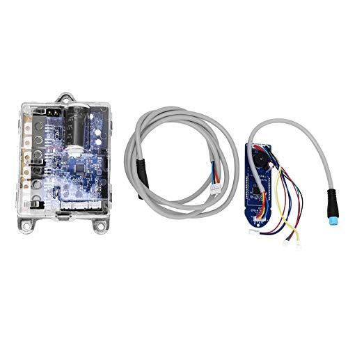 Tbest Controlador de Scooter eléctrico, Controlador de Controlador de Scooter y Accesorio de Repuesto de Placa Bluetooth para Scooter eléctrico XIAOMI M365