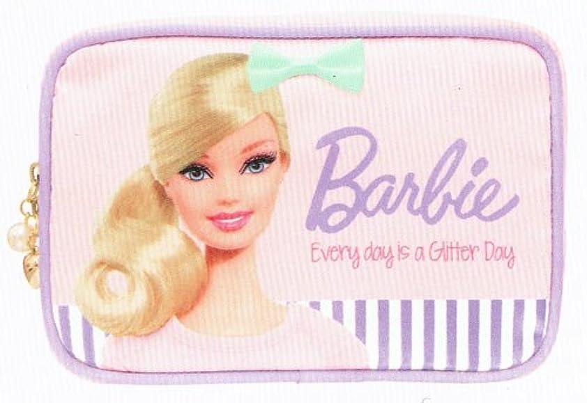 間違っている申請中誠意バービー Barbie コスメポーチ ライトピンク10106【化粧ポーチ メイク キャラクター かわいい】