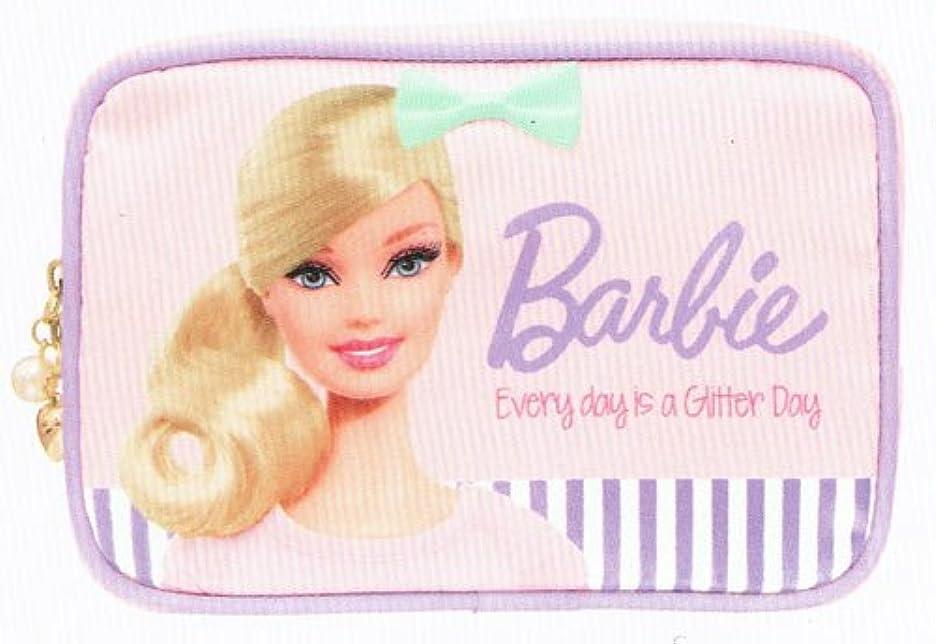 いいね孤児説明的バービー Barbie コスメポーチ ライトピンク10106【化粧ポーチ メイク キャラクター かわいい】