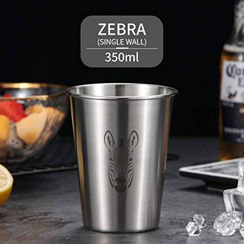 Cup304 Tasse à café portable en acier inoxydable avec double couche