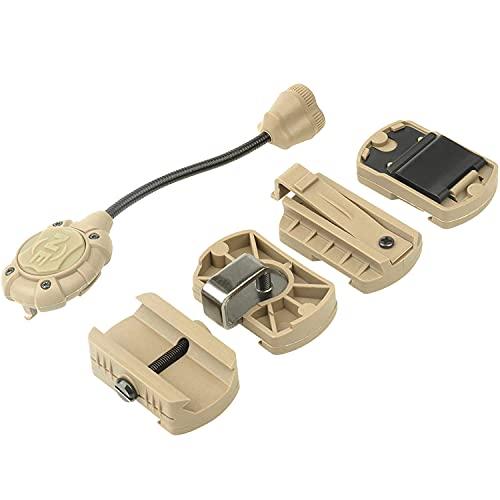 Night-Evolution Tactical Helmet Light Pro IR Señal de supervivencia Casco militar Montaje...