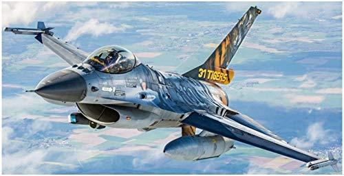 Revell-F-16 MLU 31 Sqn. Kleine Brogel Maqueta Fiel al