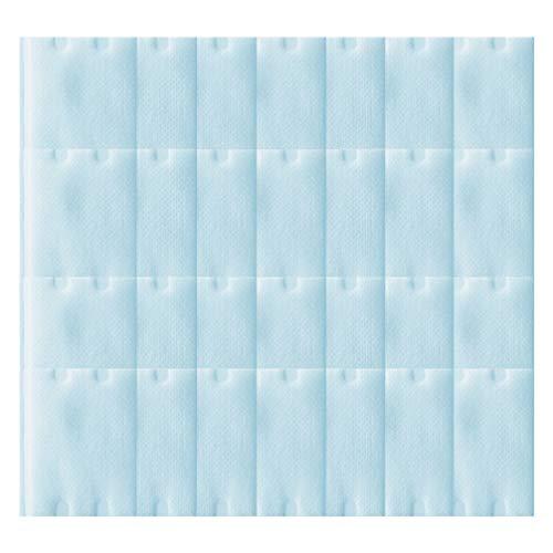 Beaupretty 100 Pcs Éponge de Gaze Médicale Jetable Visage Serviette pour Peau Sensible Sèche Et Humide Lingettes en Coton Bleu