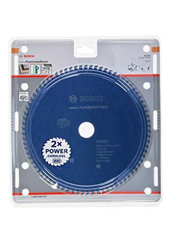Bosch Professional 2608644553 Disco Expert for Laminated Panel, aglomerado, 78 Dientes, Accesorio de Sierra Circular sin Cable, 254 x 30 x 2.6 mm
