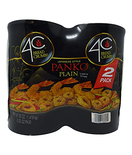 4C Plain Japanese Style Panko Bread Crumbs, 2 Pack