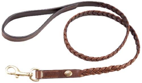 Schockemöhle 9000-00010 - Collare per cani Rusty, XL (50 cm), colore: Tobacco/oro