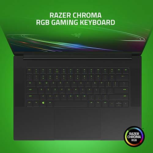 Razer Blade 15 Base Gaming Laptop 2020: Intel Core i7-10750H 6-Core, NVIDIA GeForce GTX 1660 Ti, 15.6