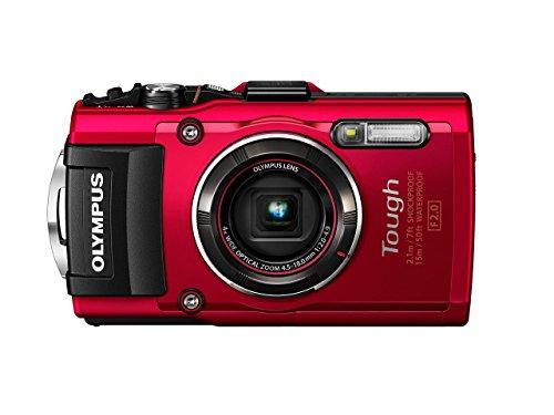 Olympus TG-4 16 MP Waterproof Digital Camera with...