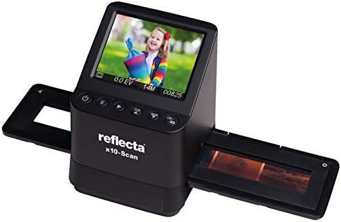 REFLECTA - X10-SCAN - Scanner autonome de diapositives et de négatifs - 14 Mega-Pixel CMOS