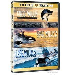 Triple Feature: Free Willy / Free Willy 2 - The Adventure Home / Free Willy 3 - The Rescue