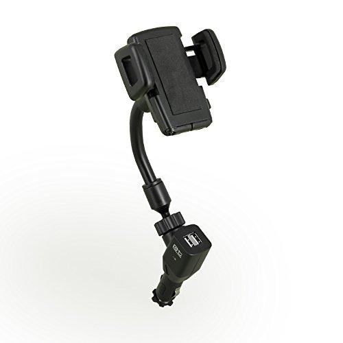 Auto-T 540302 Coche - Soporte (Navegante, Reloj Inteligente, Coche, Soporte Activo para teléfono móvil, Negro, Soporte para Rejilla de ventilación del Coche, 360°)