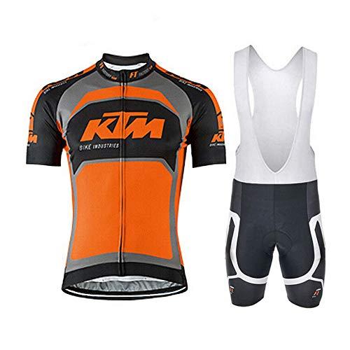 logas Männer Fahrrad-Club Cycling Team Bekleidung Jersey Shirts Kurze/Langarm Hosen Set Sportbekleidung