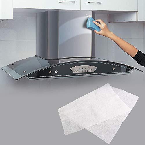 RoxTop Cocinar Limpia Filtro no Tejido Campana de Cocina de Grasa Cocina de la Contaminación del Filtro de Malla Campana extractora de Filtro de Papel del Filtro de Aceite: Amazon.es: Hogar