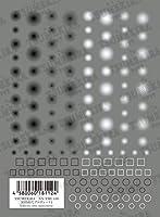 TSUMEKIRA(ツメキラ) ネイルシール 冨田絹代プロデュース1 Infinity-one monotone NN-TMI-106 1枚