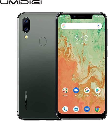 Günstiges Android 10 Smartphone UMIDIGI A3X (2020) Handy ohne Vertrag mit 5.7 Zoll Notch Display, LED Benachrichtigung, 3GB+16GB(256GB erweiterbar), 16MP Dual Kamera, 5G WiFi, Dual SIM, Grün