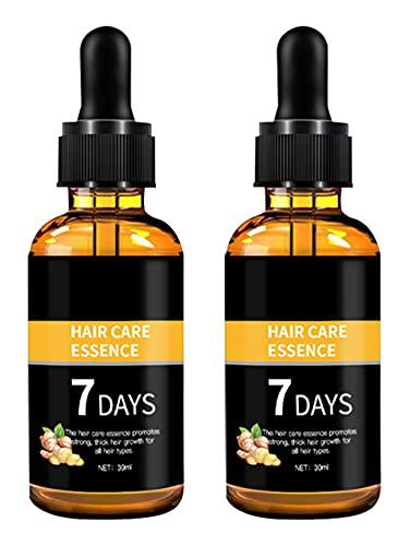 30ML Herbal Essential Argan Oil, Hair Growth serum, Dense Regrowth Ginger Serum Oil Anti Loss, Hair Growth Oil Serum Liquid Hair Loss for Women & Men Dense Thicken Hair