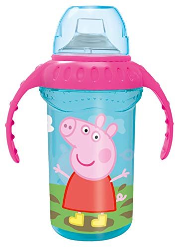 Peppa Pig 841249785228 Bicchiere Da Viaggio