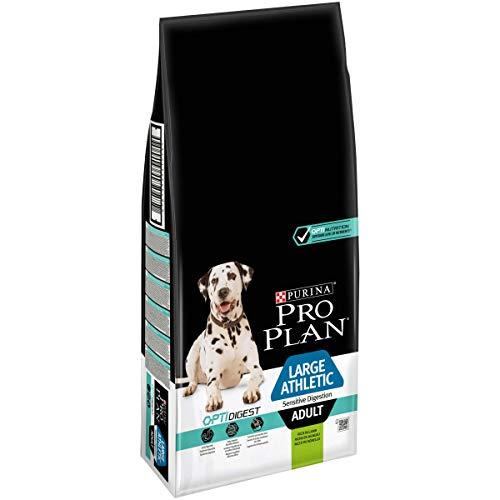 PURINA PRO PLAN Large Athletic Adult Hundefutter trocken mit OPTIDIGEST, reich an Lamm, 1er Pack (1 x 14kg)