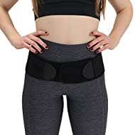 Sacroiliac Support SI Loc Hip Belt for Men and Women Lumbar Lower Back Joint Pelvic Posture Support Large/X Large
