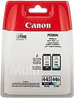 Canon PG-445/CL-446 BK/C/M/Y Ink Cartridge, Multipack