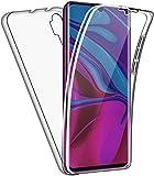 HülleNN Kompatibel mit Xiaomi Mi Note 10 / Mi Note 10 Pro / CC9 Pro Hülle 360 Grad Handyhülle Silikon & PC Crystal Clear Full Body Schutz Slim Transparent mit Bildschirmschutz Schutzhülle Durchsichtige