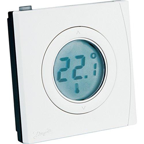 SCHWAIGER -ZHD01- Raumthermostat/Temperaturregler/automatische Regelung voreingestellter Temperatur/Z-Wave/Smart Home/Steuerung per App/Sprachsteuerung mit Alexa und Google