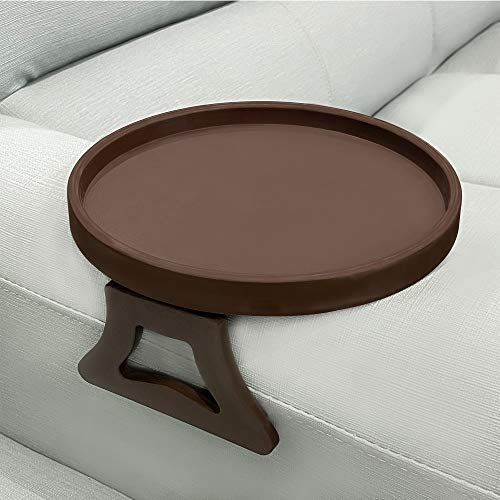 Sofa Arm Clip Tray, Side Table for Remote...