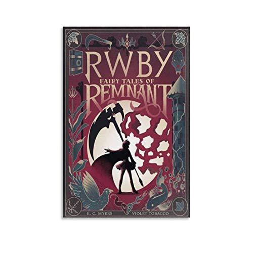 RWBY Poster Manga Figur Merchandise 11 Poster Dekorative Malerei Leinwand Wandkunst Wohnzimmer Poster Schlafzimmer Gemälde 50 x 75 cm