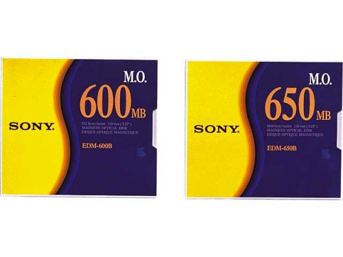 Sony EDM600 CD vergine