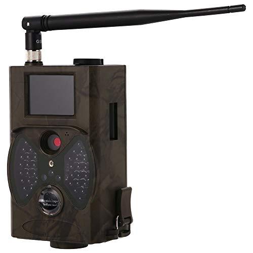 YCXYC 2G Wildkamera Fotofalle,GSM MMS Bewegungsmelder Nachtsicht Infrarot 1080P 16MP Jagdkamera,Handyübertragung Beutekameras,Mit 2,0LCD-Display wasserdichte Überwachungskamera Mit 16G Speicherkarte