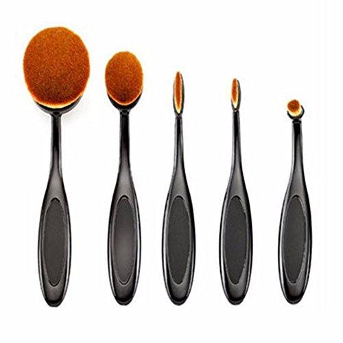 Hosaire 5X Make-up Gesichtsbürste Zahnbürste Stil Augenbrauenpinsel Make Up Eyes Bürste Beauty...