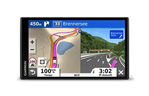 """Garmin Camper 780 MT-S EU – Navi für Wohnmobile & Wohnwägen, 6,95"""" (17,7 cm) großes Farb-Touchdisplay, 3D-Navigationskarten für Europa (46 Länder), Live-Verkehrsinfos, Camper POIs, Sprachsteuerung"""