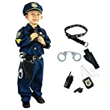 Joyin Toy Spooktacular Creations Deluxe Police Officer Costume and Role Play Kit. (Toddler)