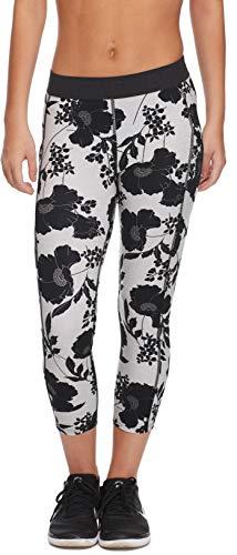 Body Glove Drift Perfomance FIT Activewear Capri Pant Pantalones de Yoga, Waitomo Negro, XS para Mujer