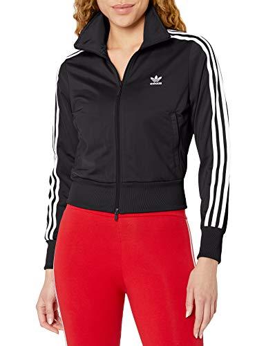 adidas Originals Damen Firebird Track Top Jacke, schwarz/weiß, Groß