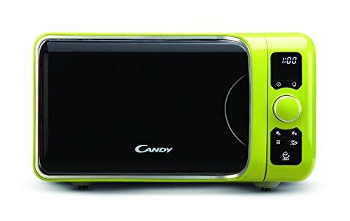 Candy Microondas con grill, 25 L, 900 W / 1000 W, 6 programas automáticos, color verde, 29,1 x 49,8 x 41 cm