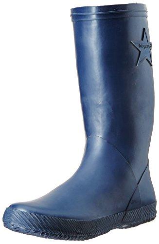 Bisgaard Unisex-Kinder Rubber Boot Star Gummistiefel, Blau (20 Blue), 27 EU