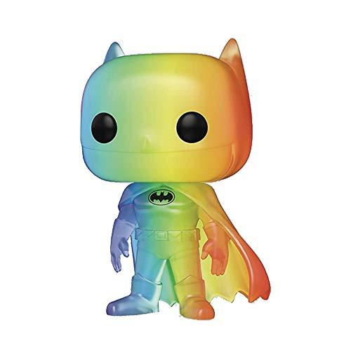 Funko- Pop Heroes 2020-Batman Pride 2020 Batman(RNBW) Figura Coleccionable, Multicolor (49844)