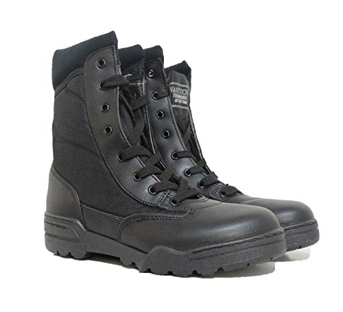Anfibi Stivali Militari Vantech Modello Magnum Sicurezza Vigilanza Privata Security (40)