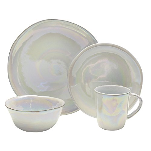 Mikasa Coronado Dinnerware Set, Pearl Place Settings Pearl
