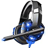 ONIKUMA PS4 Headset, Gaming Headset für Ps4 / Xbox One / PC /