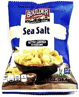 Boulder Canyon Potato Chips - Sea Salt (Box of 72)