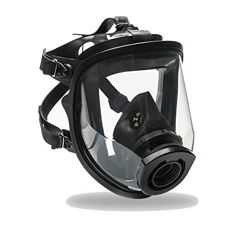 Certified Full Face Gas Mask Respirator SuperView - 1 Year Full Manufacturer Warranty