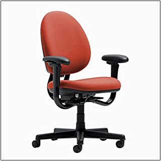 Steelcase Criterion High-Back Work Chair by Steelcase, Color = Tomato