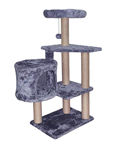 TINWEIUS 01A Cat Tree Scratching Toy Activity Centre Cat...