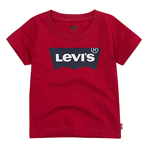 Levi's Baby Batwing T-Shirt, Red, 9M