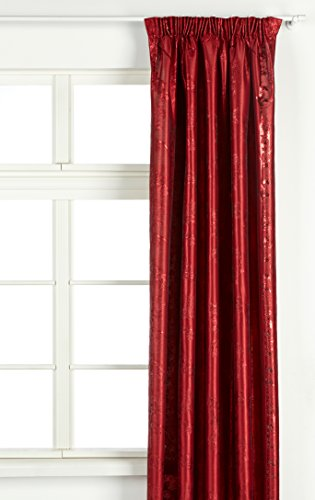 Vallila Luontopolku, Birke, Baum Muster, Vorhang 140x250 Rot, Polyester, 250 x 140 cm