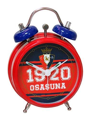 CYP- 0 CLUB ATLETICO OSASUNA Reloj despertador de campanas, Color, 0 (RD-01-SA)