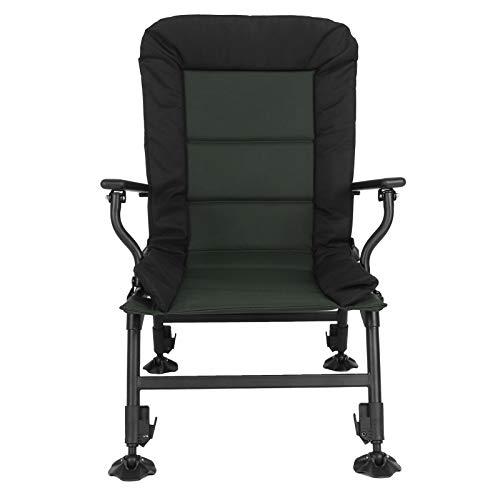 Silla de Pesca, sillón de Pesca Comodidad Suprema para picnics Pesca Camping al Aire Libre